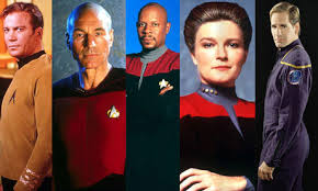 Captains of Star Trek