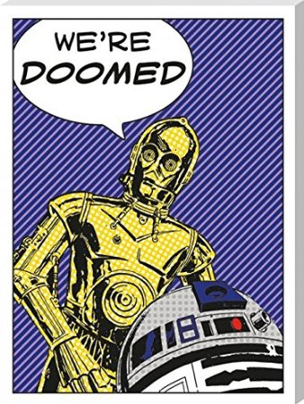 We`re Doomed Canvas Print