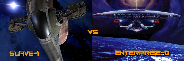 Slave I vs Enterprise D vs Acclamator Troop Transport