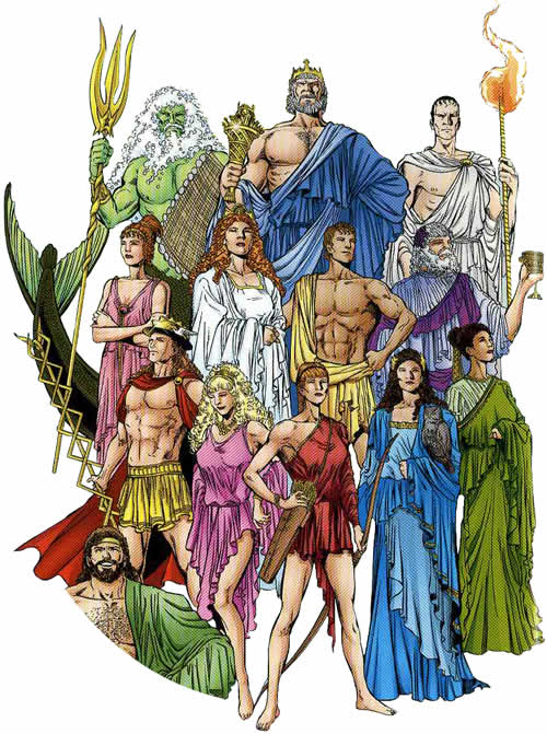 Greek / Roman Gods
