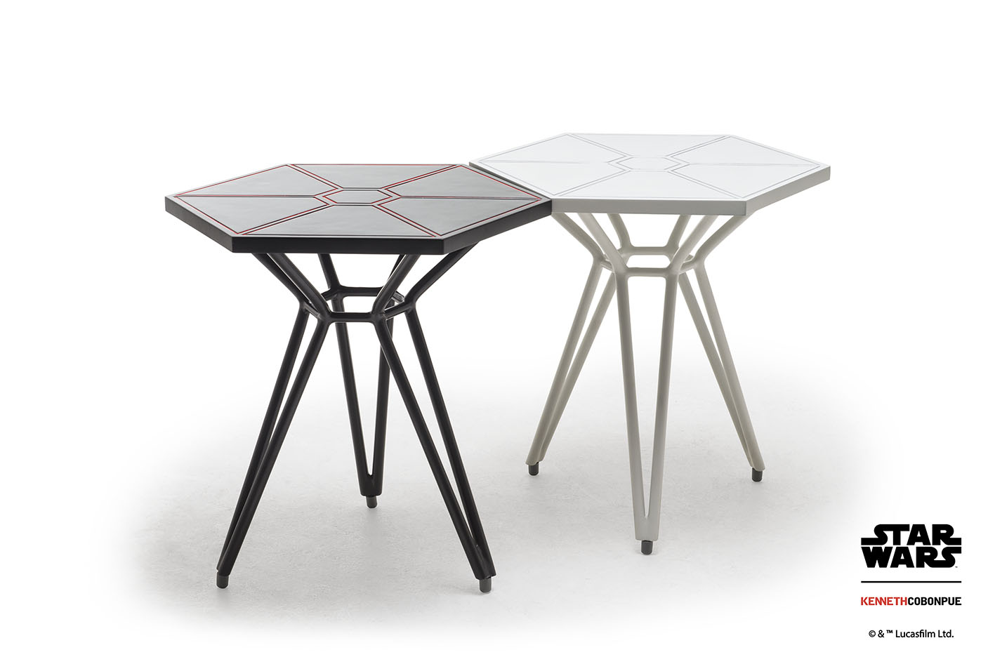 Imperial Tie Fighter Wings Table