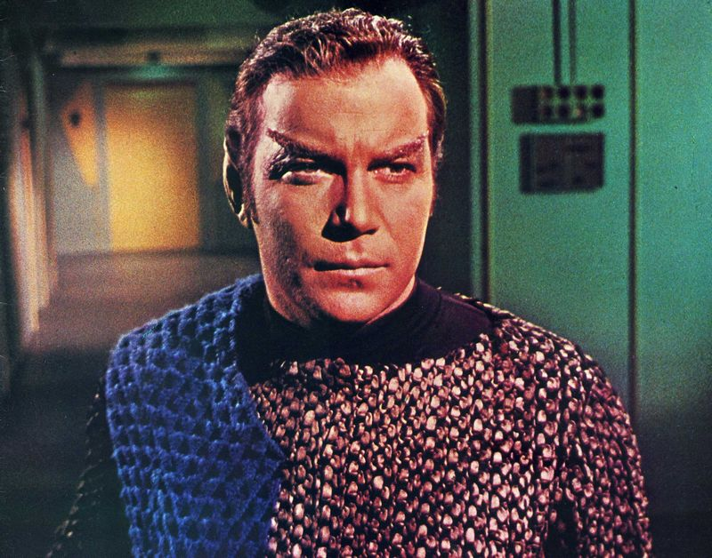 James Kirk Dresses as a Romulan