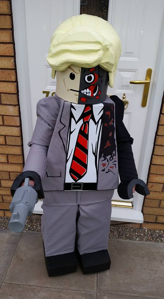 Lego Two Face Cosplay
