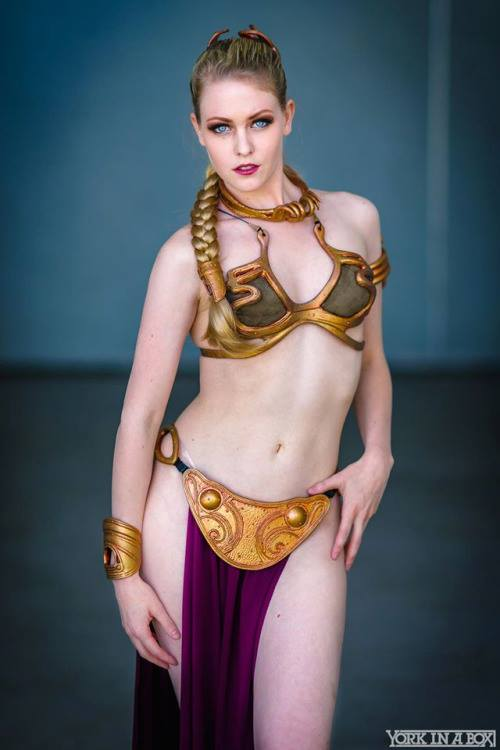 Maid of Might Cosplay (USA) as Slave Leia