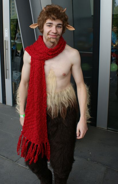 Mr Tumnus Cosplay