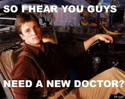 Nathan Fillion Doctor Who