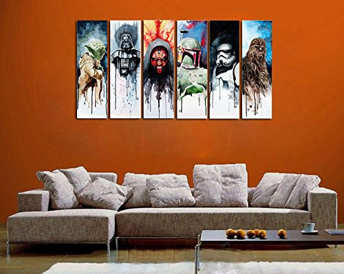 Star Wars - 6 Piece Canvas
