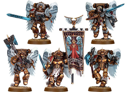 Warhammer 40,000 Blood Angels Sanquinary Guard